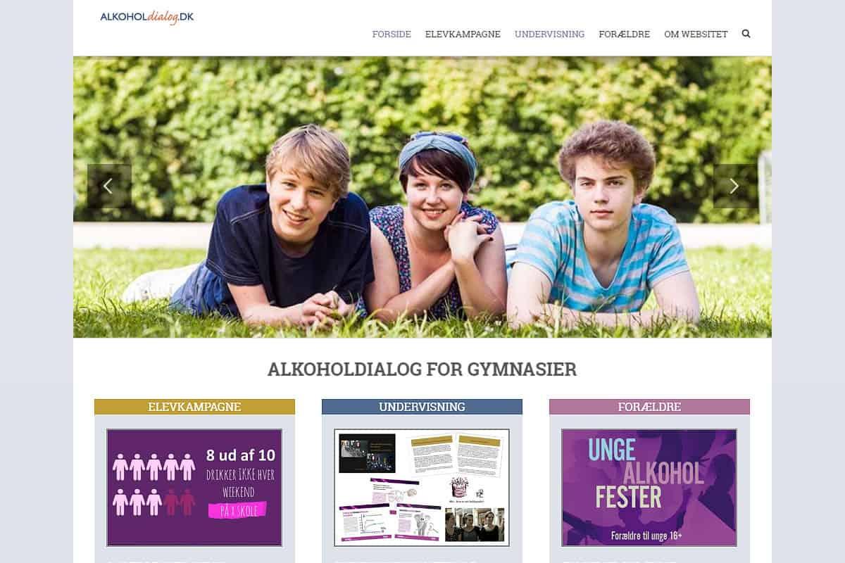 Alkoholdialog-gymnasiet.dk af Davids Hjemmesider