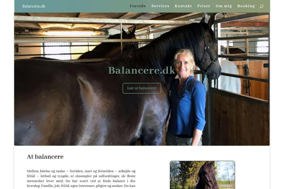 Balancere.dk af Davids Hjemmesider