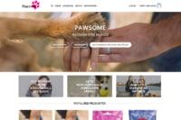 Pawsome.dk udviklet af Davids Hjemmesider