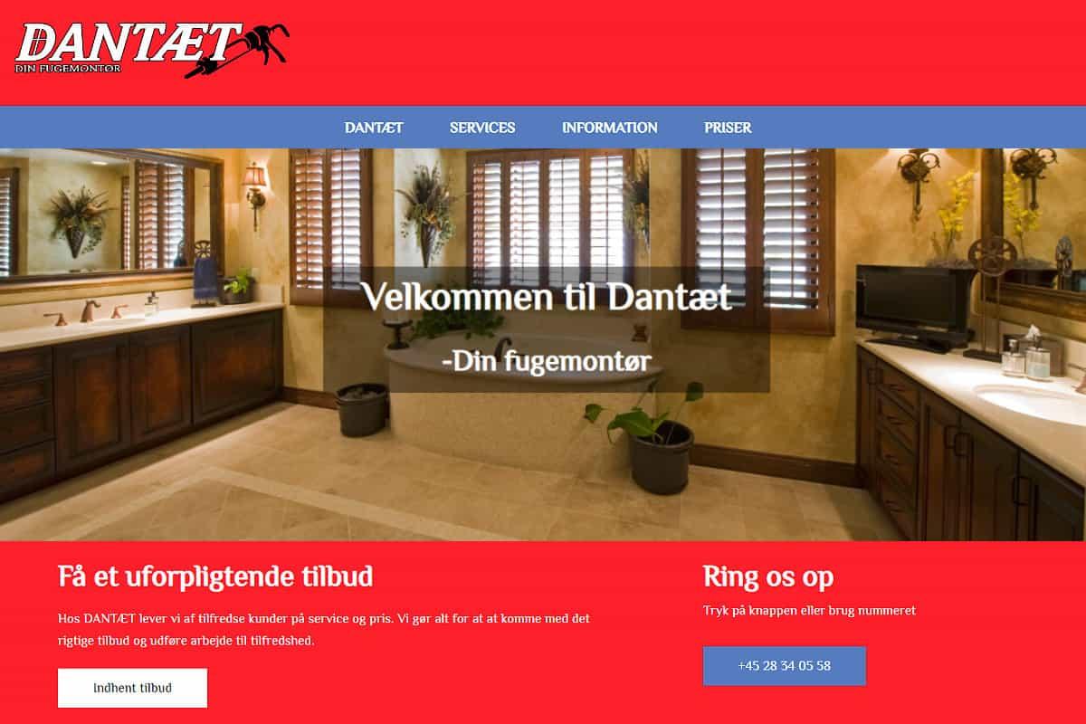 Dantæt Fuge - Davids Hjemmesider